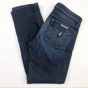 Hudson Dark Wash Jeans Flap Pocket Size 29